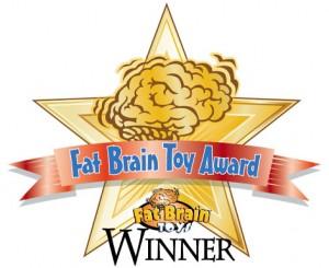 Splash Jack wins fat brain toy award for best bath toy